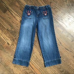 Osh Kosh girl's retro style jeans